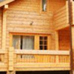 Cloture bois devant maison