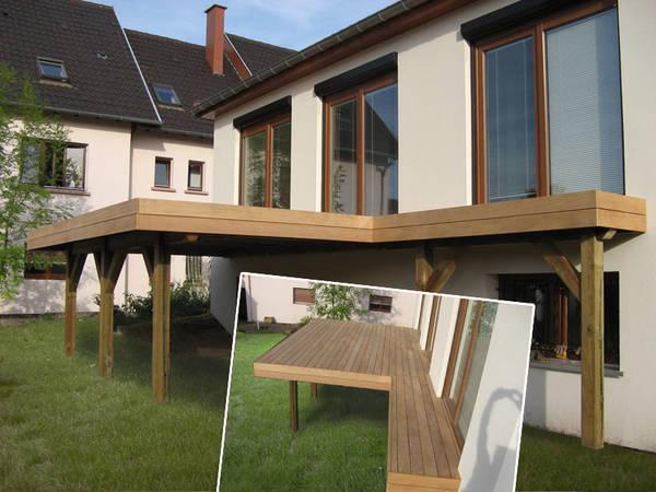 devis terrasse bois composite