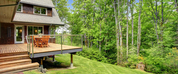 devis terrasse bois sur pilotis