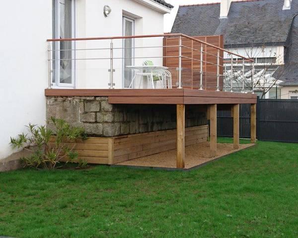 terrasse bois devis