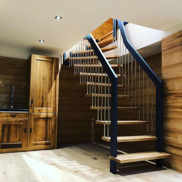 escalier devant maison