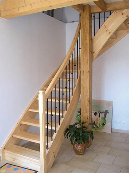Devis escalier bois - DEVIS MENUISERIE EN LIGNE