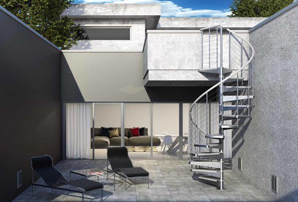 exemple devis escalier beton